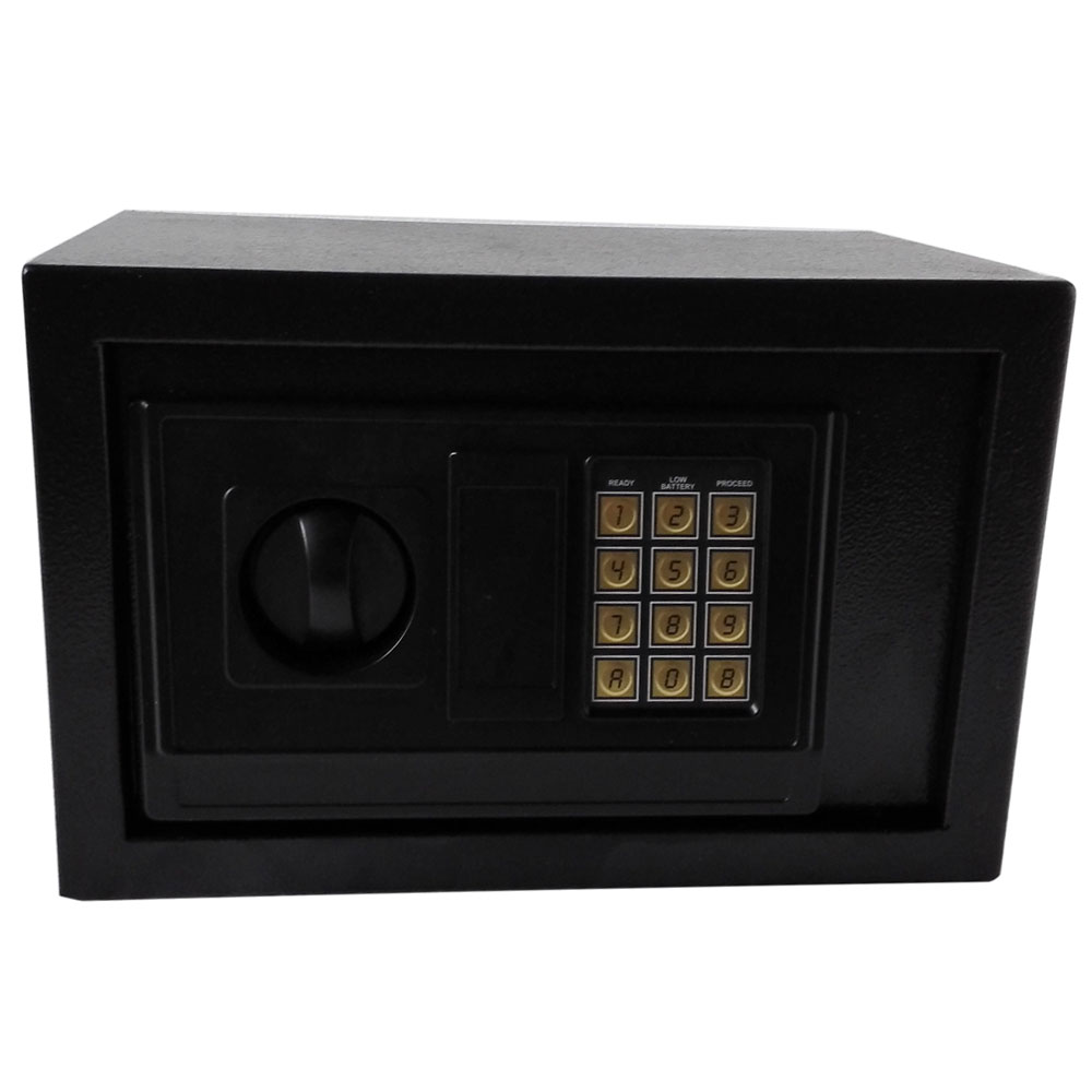 Digital Steel Safe Electronic Locking Money Strongbox Cash