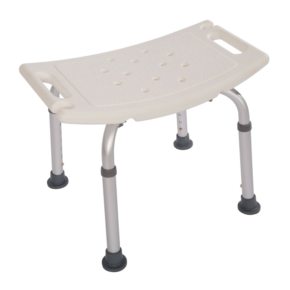 Adjustable Height Bath Shower Seat Stool Chair Mobility