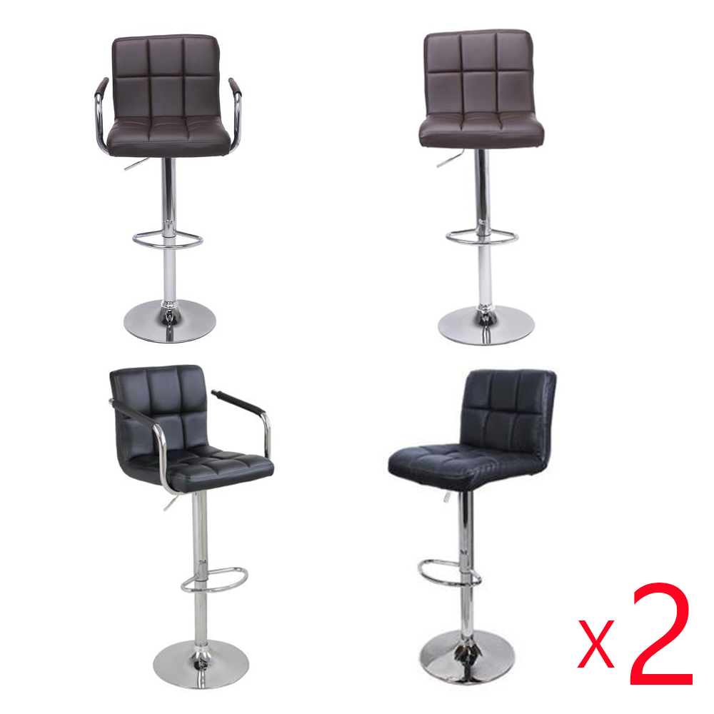 Bar Chairs Furniture Lifting Swivel Bar Chair Rotating Adjustable Height Pub Bar Stool Chair With Footrest Simple Design High Quality Cadeira Complete In Specifications