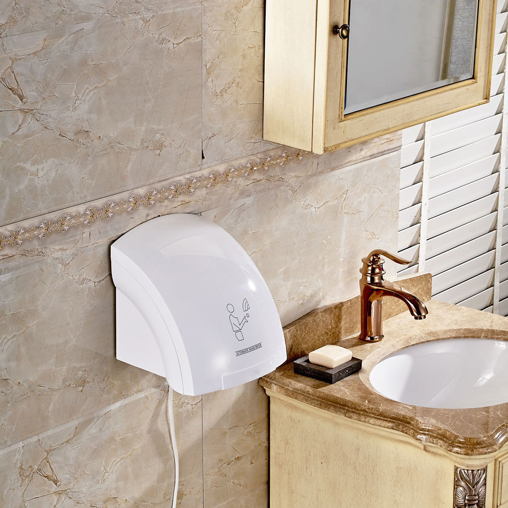 High Quality Automatic Infared Sensor Hand Dryer Bathroom Hands