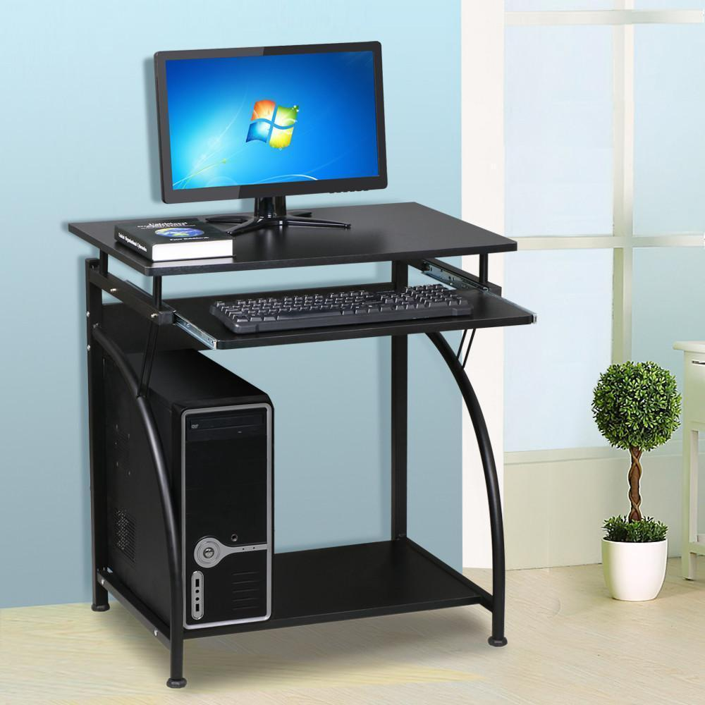 Computer Desk Laptop Table Study Workstation Home Office Furniture