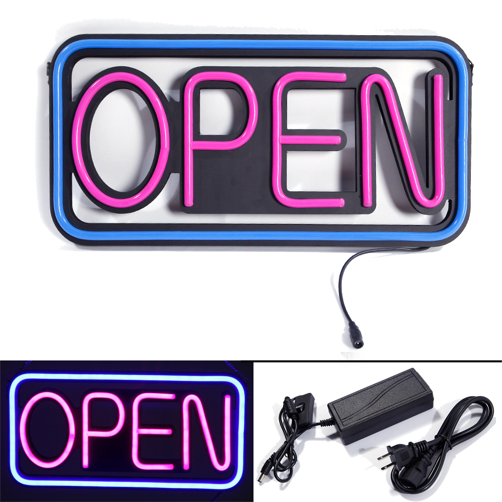 New Square Hang Waterproof Open Led Spectacular Sign