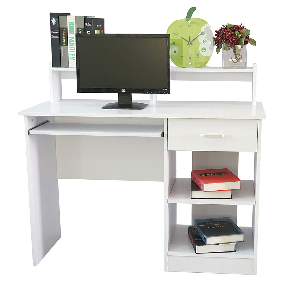 Home Office Computer Desk Workstation Wood Laptop PC Table