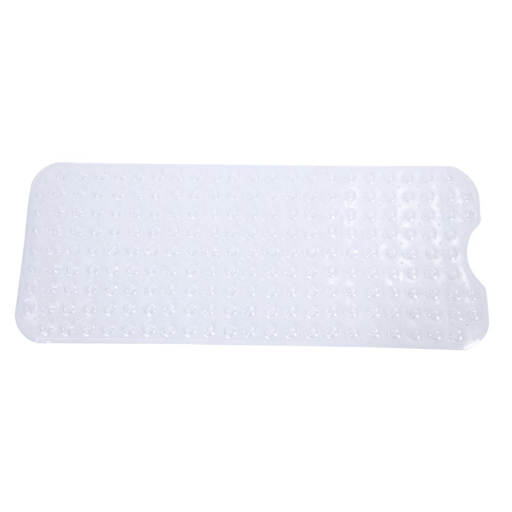New Bathtub Clear Extra Long Bath Mat Non Slip Safe Anti Skid Shower ...