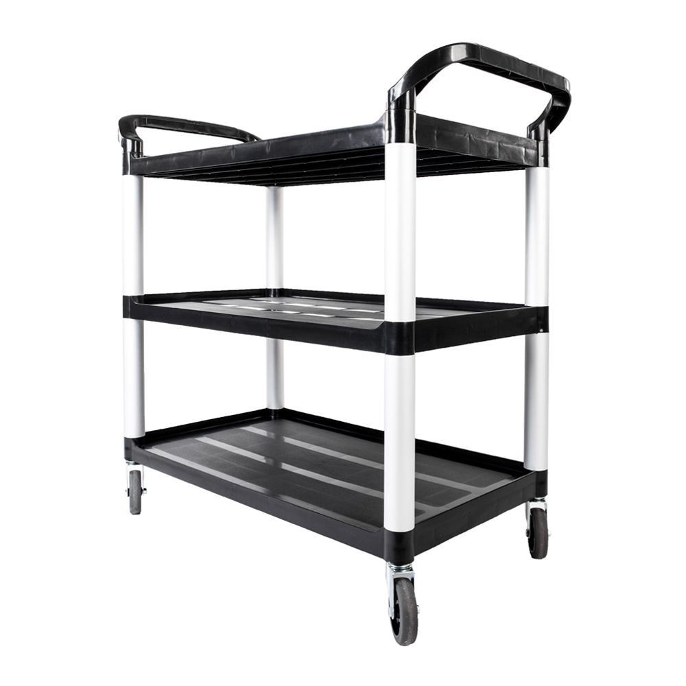 Details about 3-Tier Rolling Kitchen Trolley Cart Island Storage Utility  Service Dining Unit