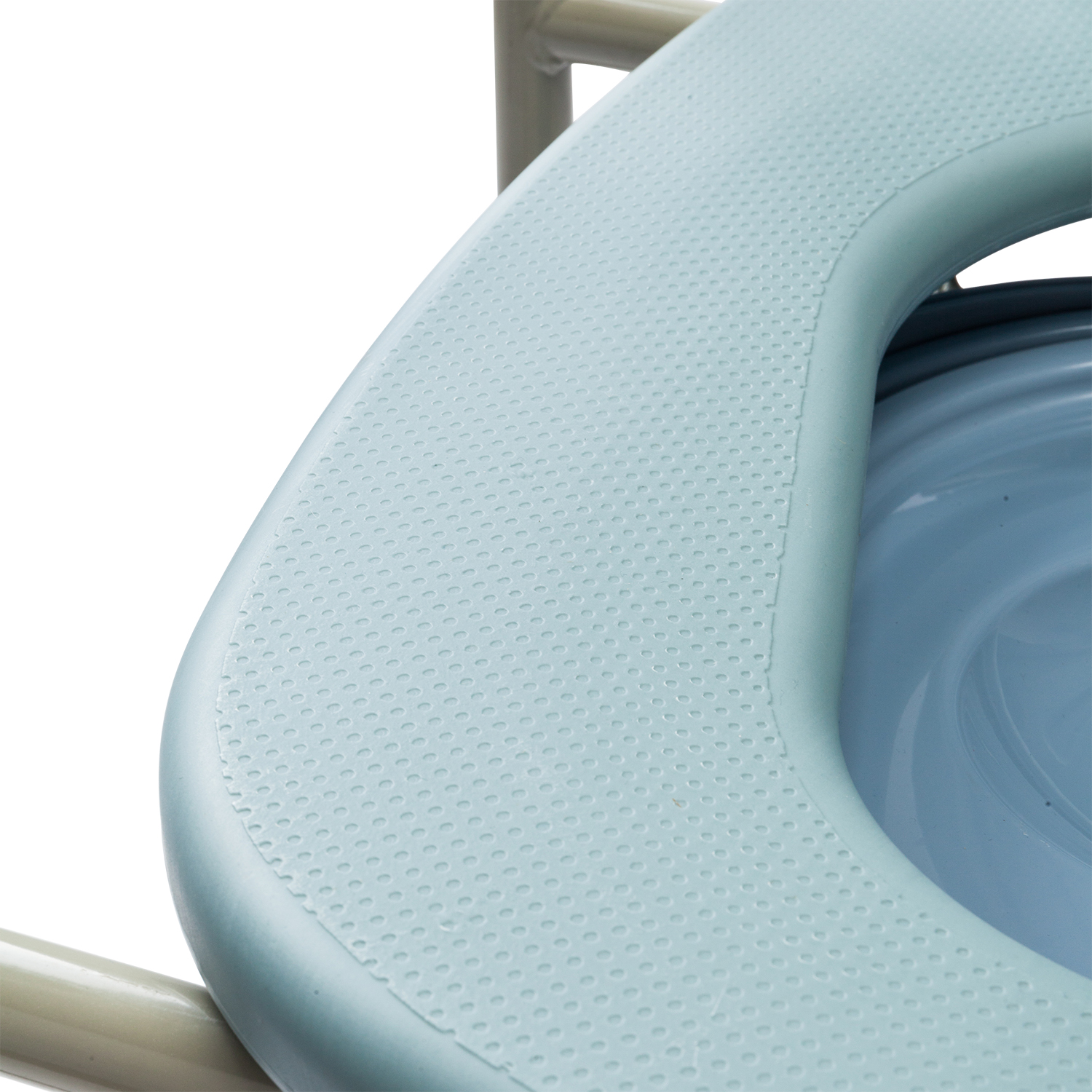 Folding Commode Chair Toilet Seat Safety Bedside Chair with Cover | eBay