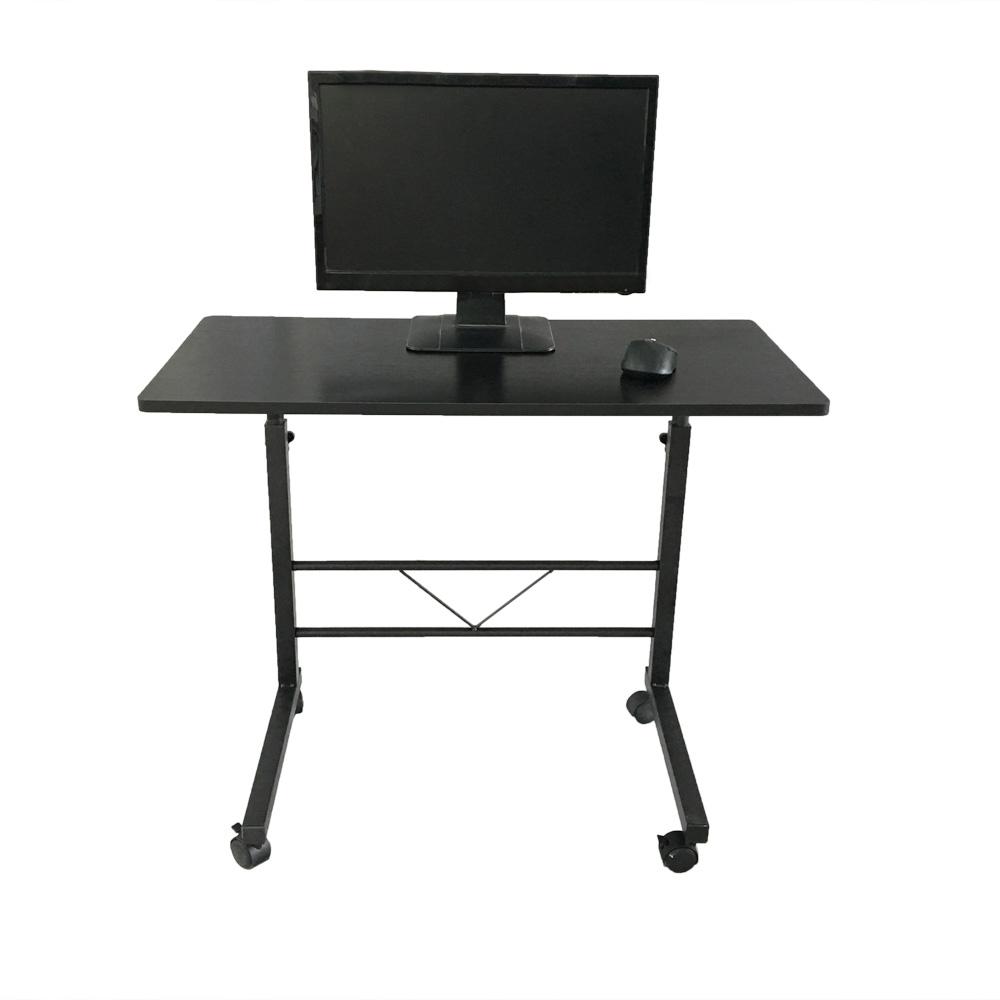 removable laptop table stand height adjustable computer desk sofa bed tray black ebay. Black Bedroom Furniture Sets. Home Design Ideas