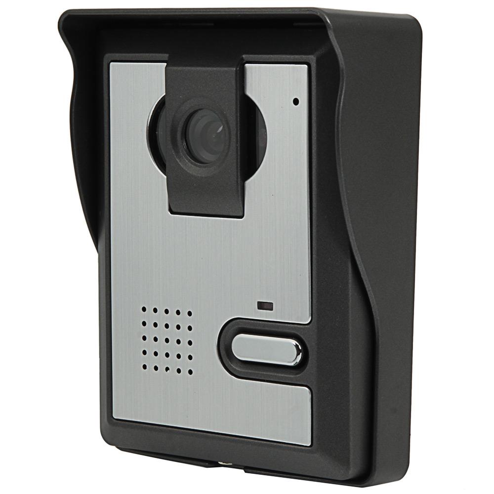 """Wired 7"""" LCD TFT Video Door Phone Doorbell IR Camera ..."""