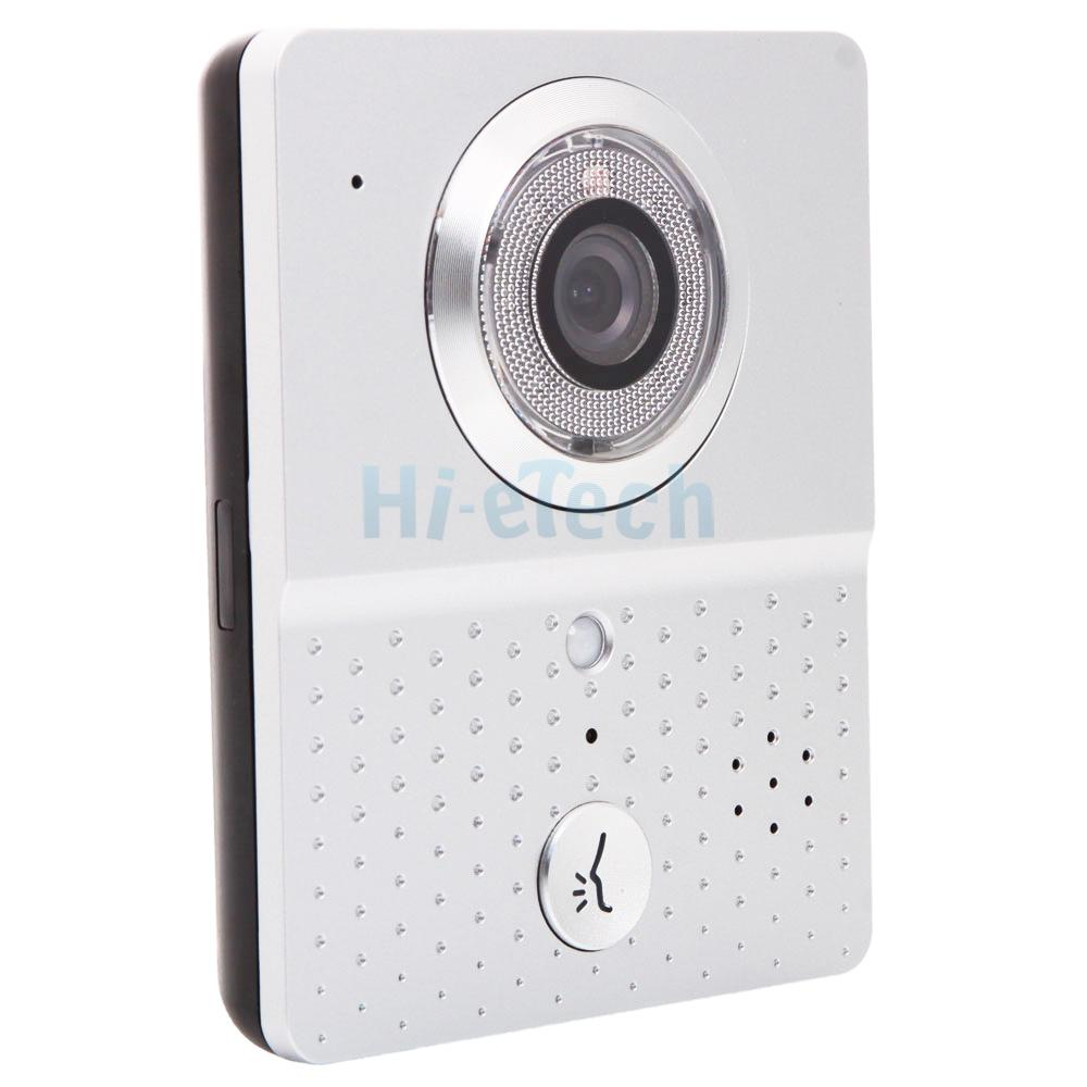Wireless wifi 3g 4g remote video camera door phone for Door video camera