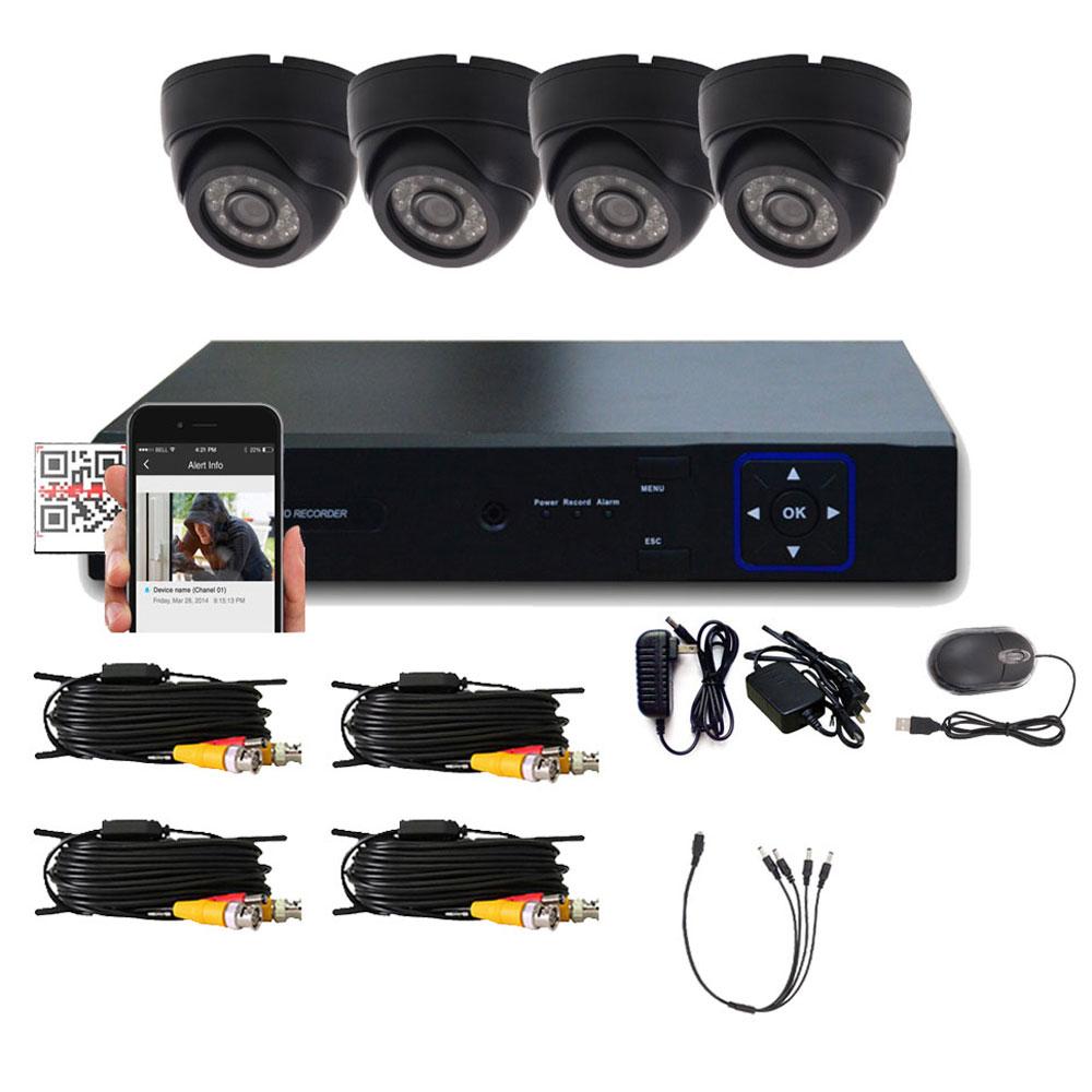 Camera Monitoring System : Ch hdmi cctv indoor dvr night vision home surveillance