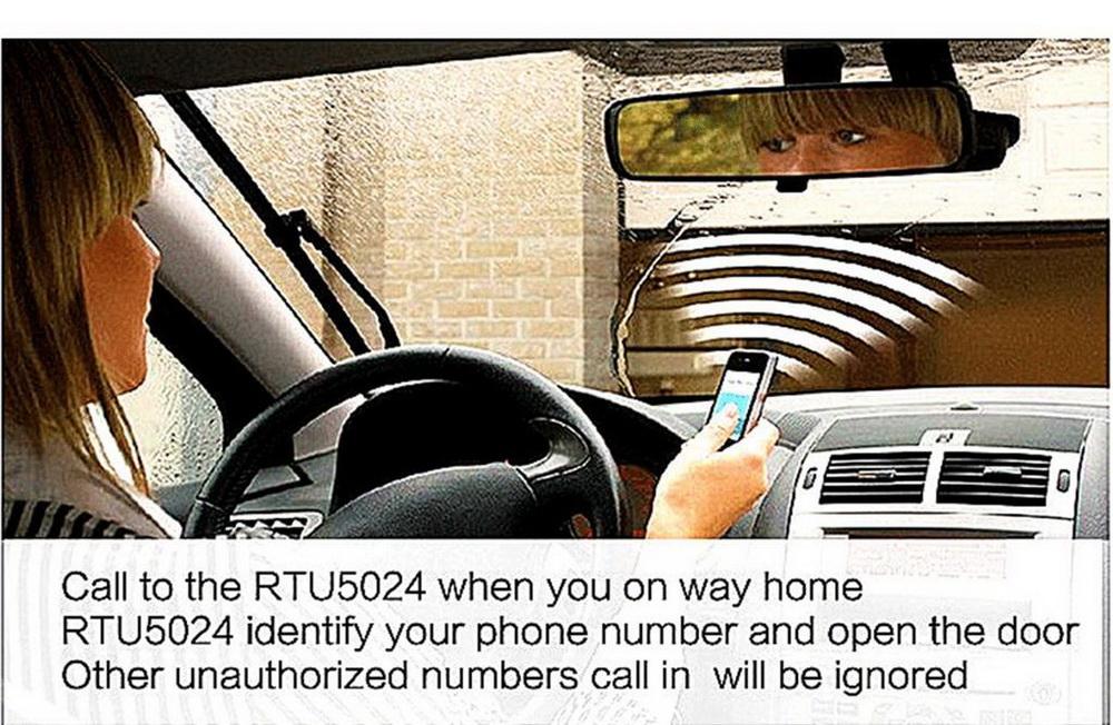 Rtu5024 Graceful Gsm Gate Opener Free Call Wireless Door
