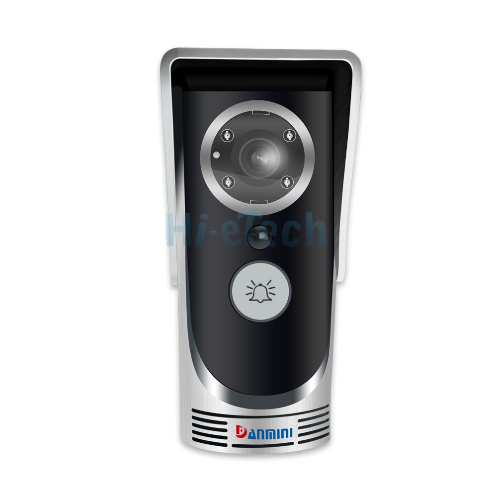 wifi video audio camera door bell wireless doorbell. Black Bedroom Furniture Sets. Home Design Ideas