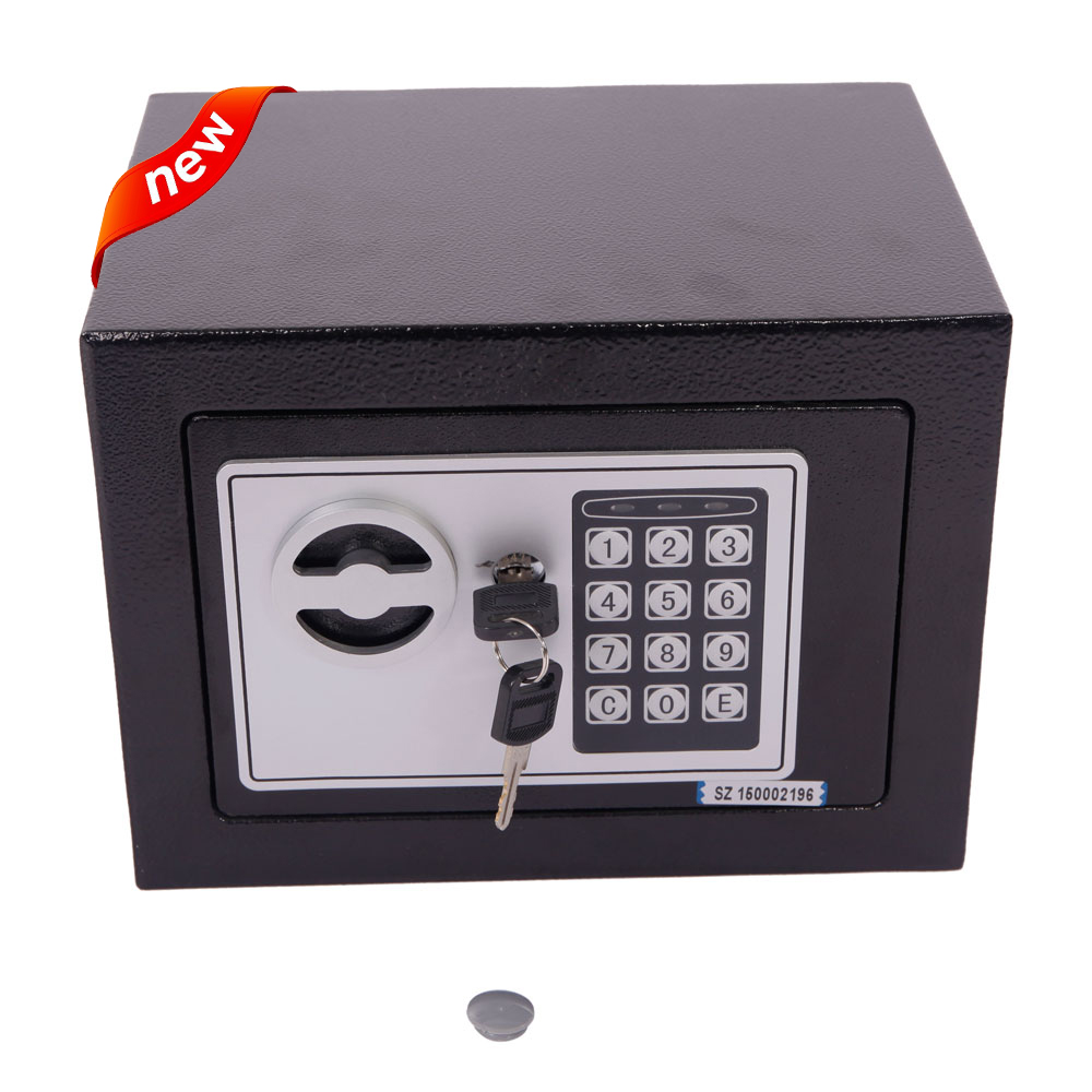 Hot Small Black Security Steel Digital Electronic Lock