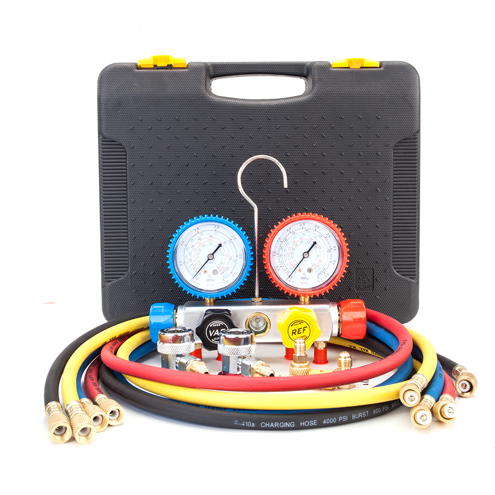 R134A R410a Air Conditioning HVAC A//C Refrigeration Charging Manifold Gauge Sets