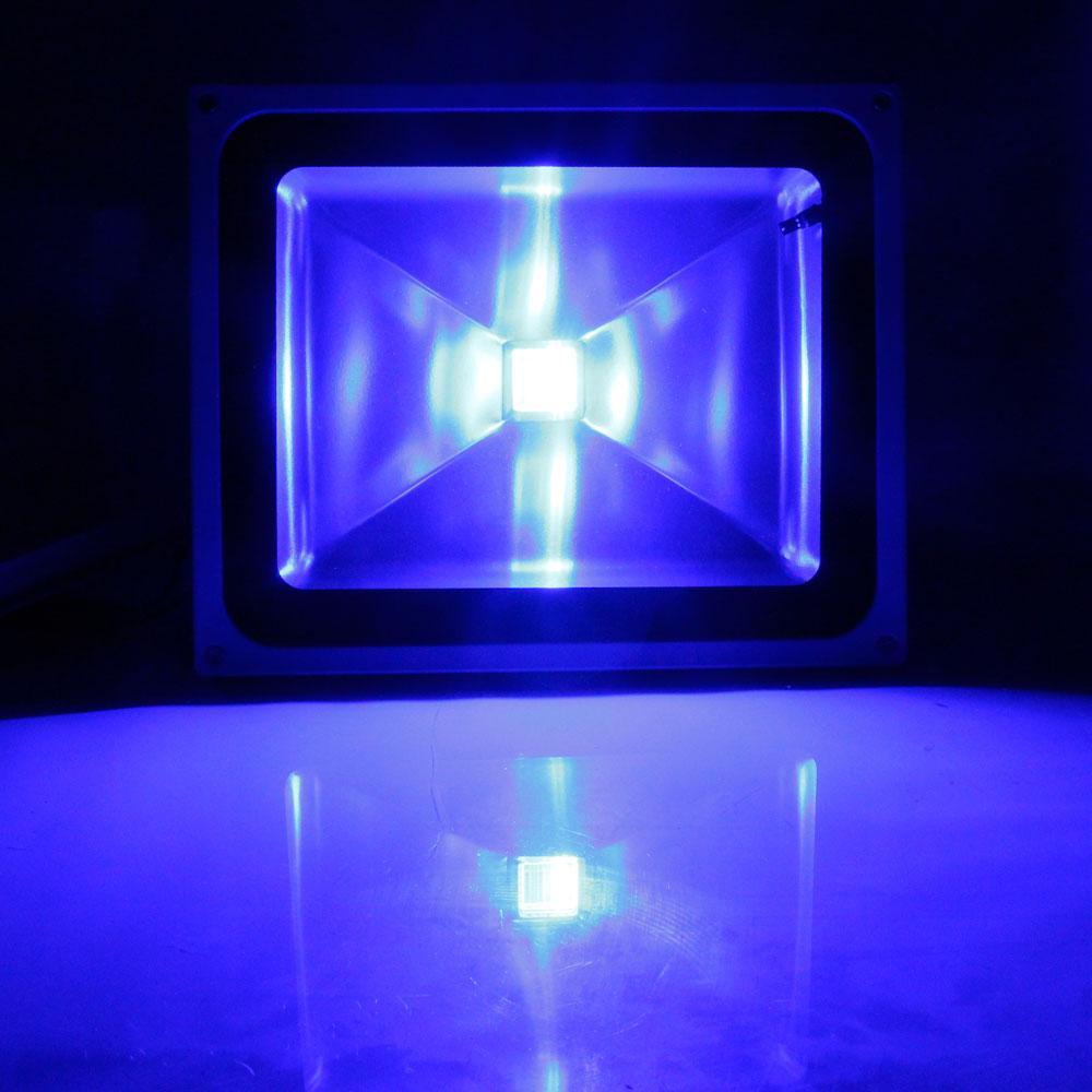 Landscape Lighting Spotlight: 50W RGB LED Waterproof Flood Lamp Outdoor Spotlight Garden