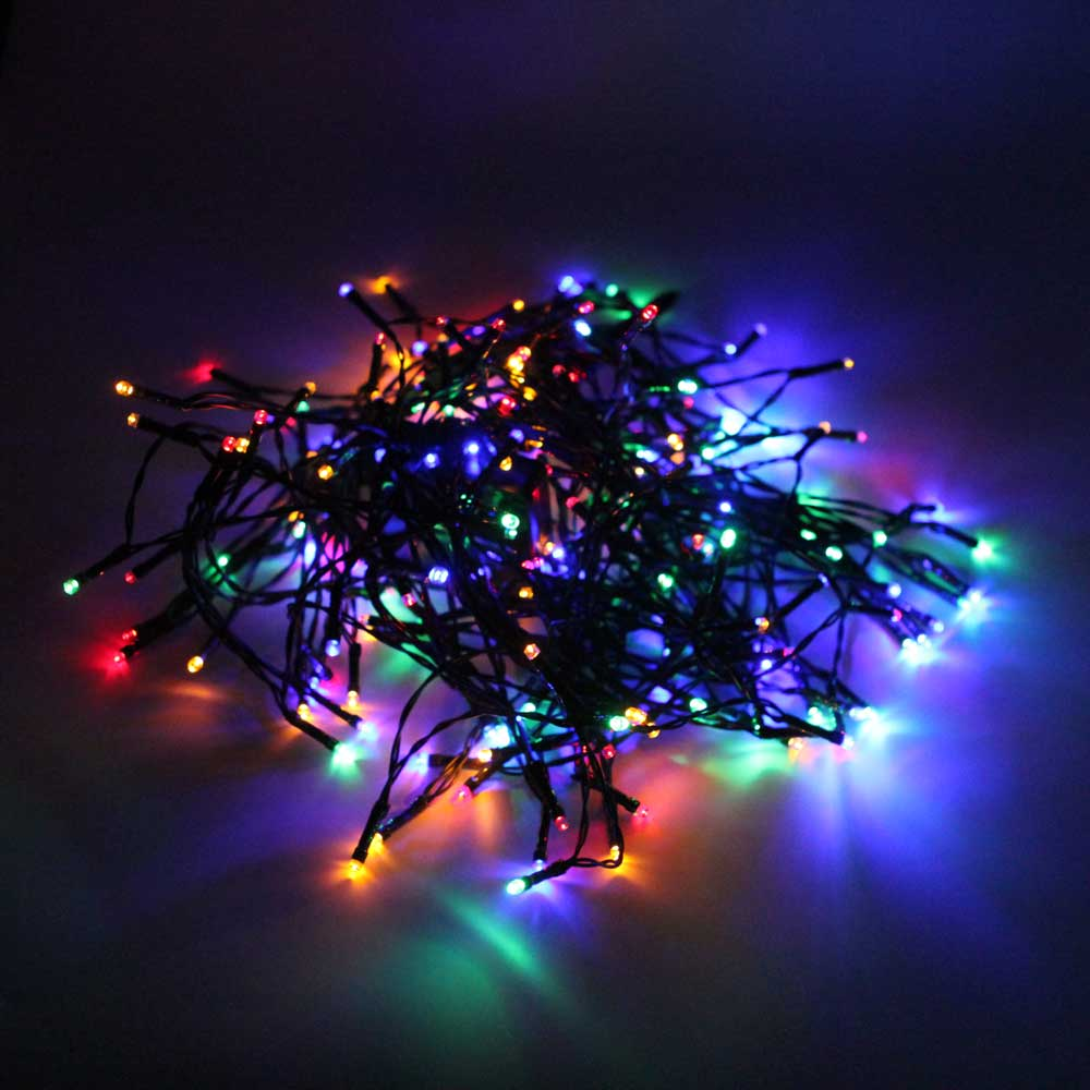 Led solar power fairy string lights party christmas