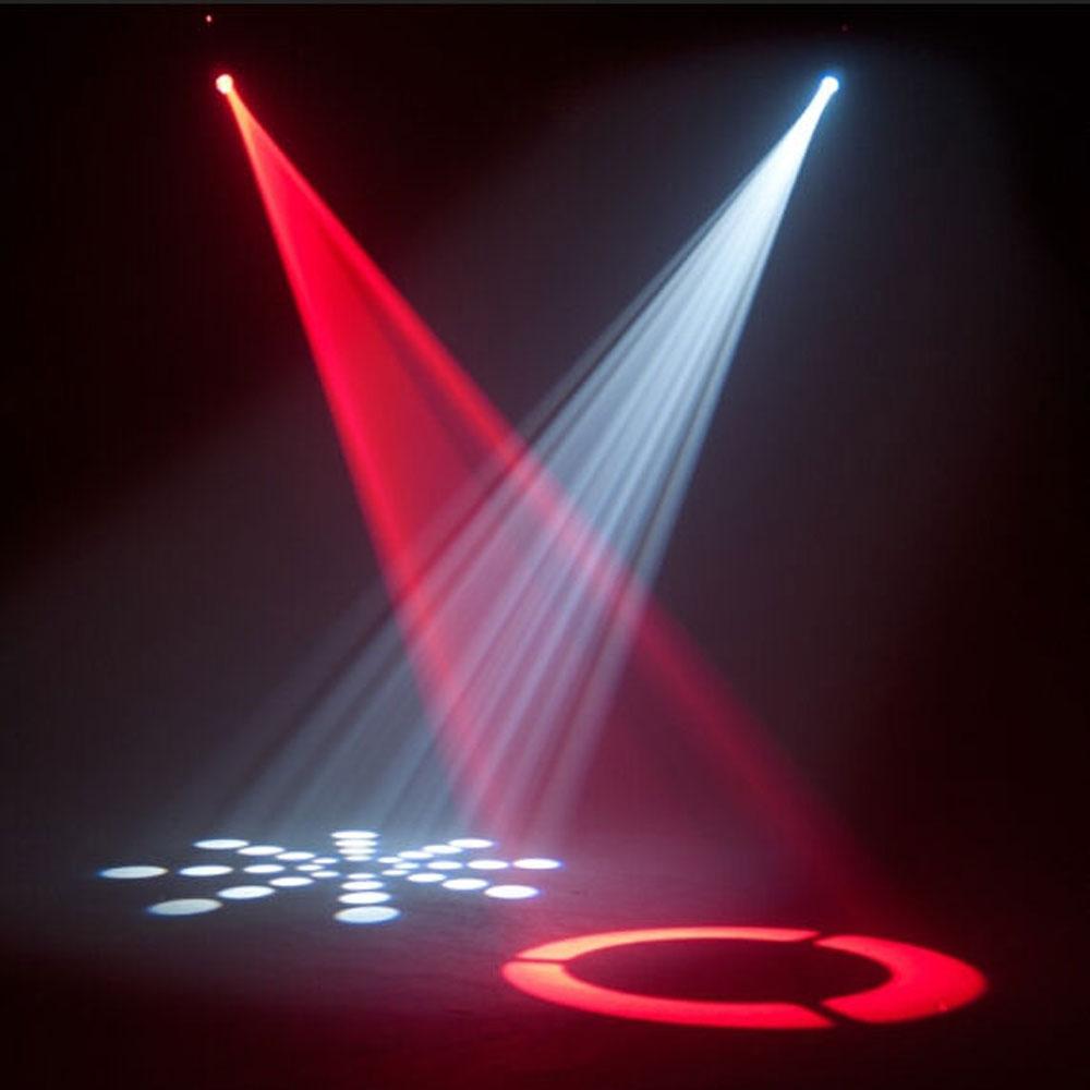 Lighting Pattern: 30W LED Moving Head Effect Lights 8 Pattern DMX512 Stage