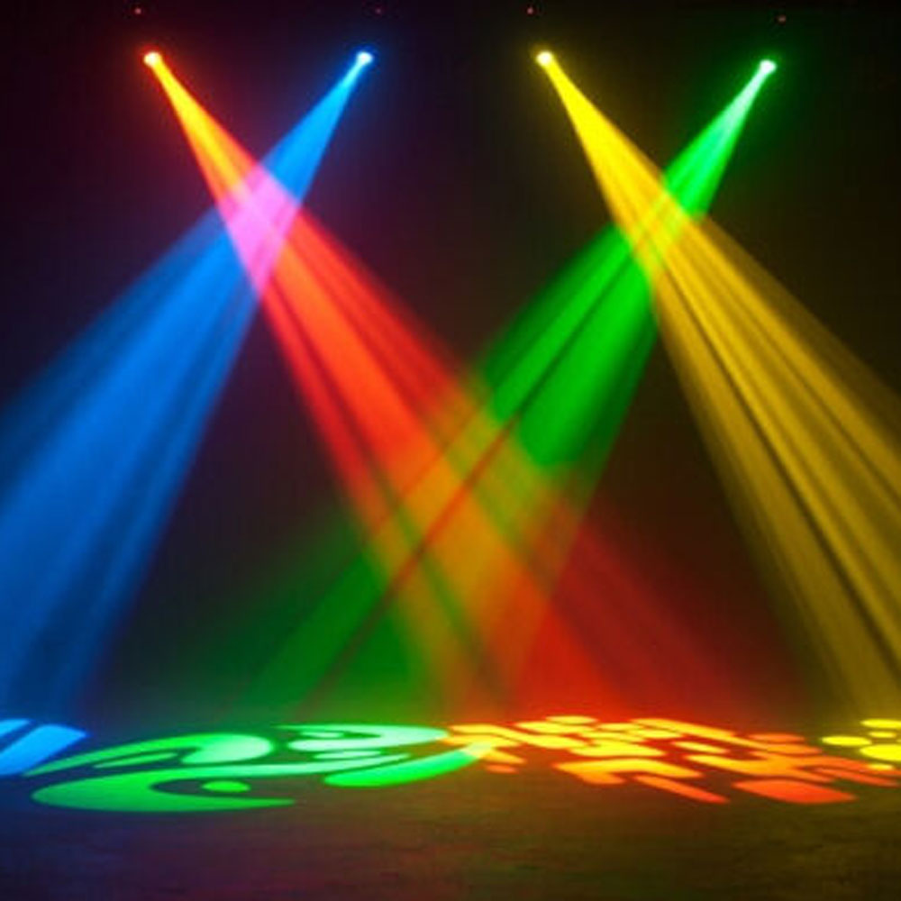 50w Led Moving Head Stage Lighting 8 Rotary Pattern Effect Dmx512 Dj Club Lights