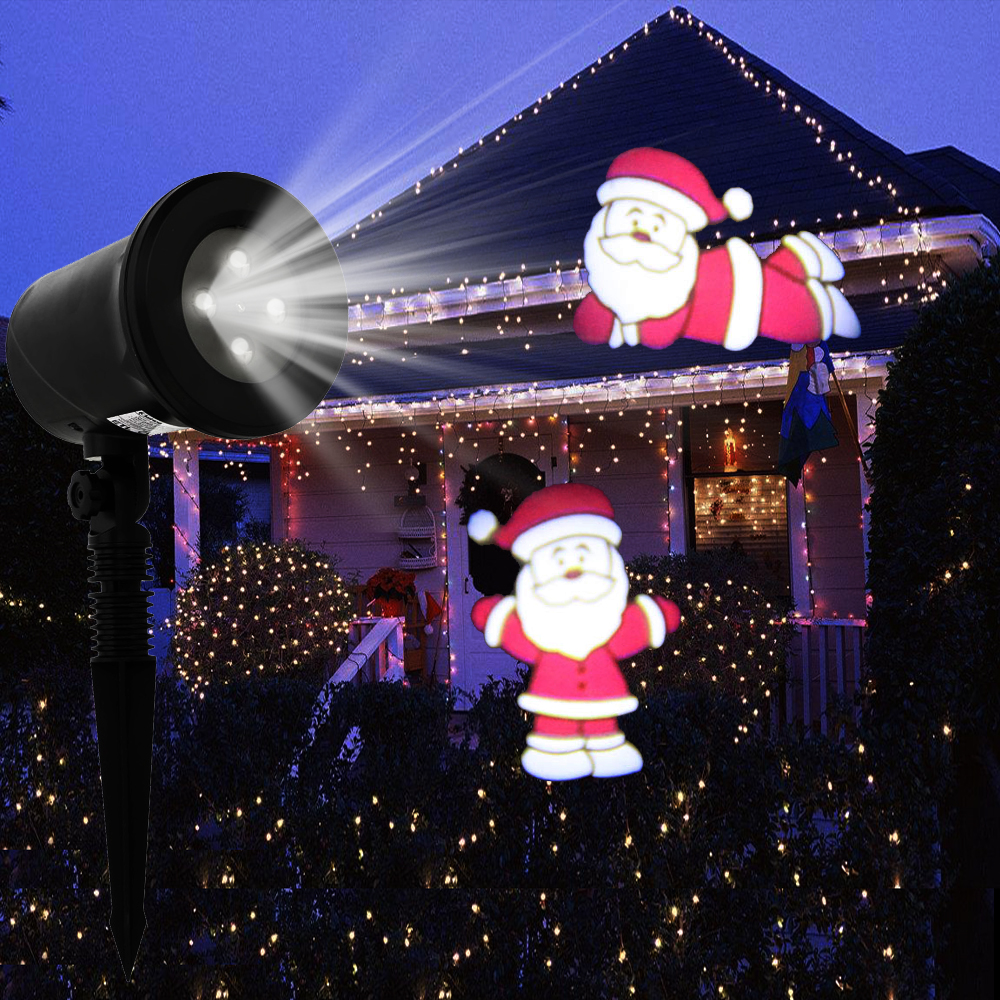 xmas light projector kshioe led laser moving projector light 10841
