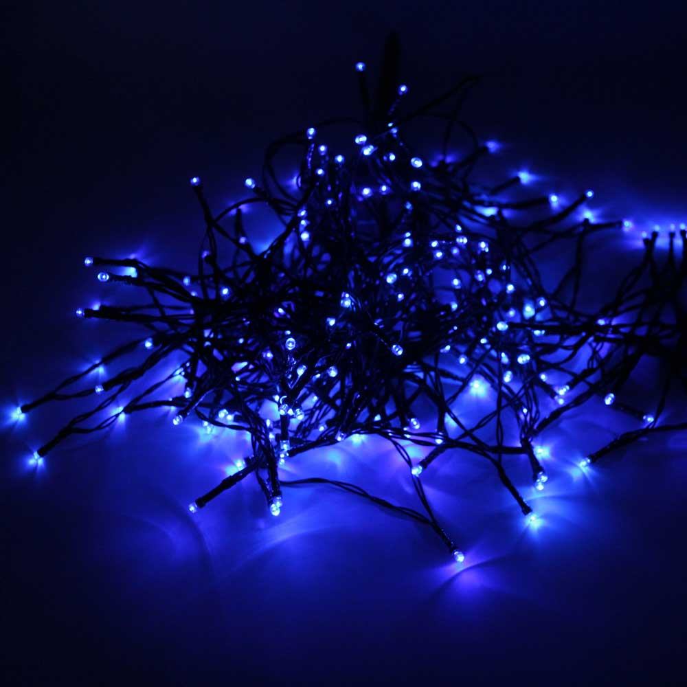 200 LED Solar Power Fairy String Lights Party Christmas