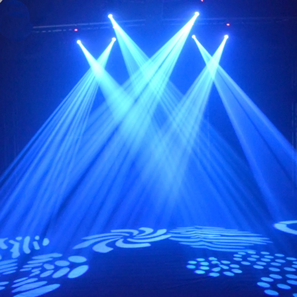New Light Theater Project: 30W LED Moving Head Effect Lights 8 Pattern DMX512 Stage