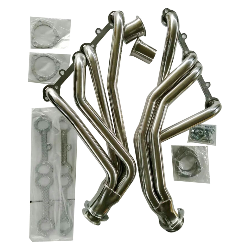 STAINLESS STEEL SS EXHAUST LONG TUBE HEADER FOR 67-77