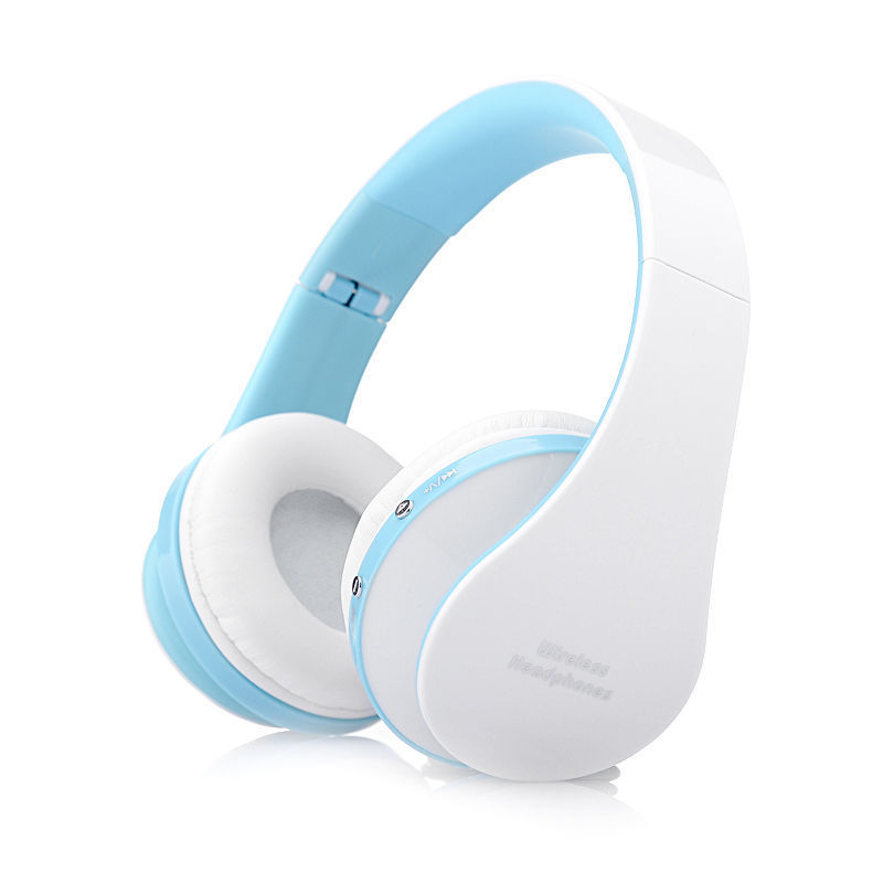 foldable wireless bluetooth headsets stereo headphones for iphone samsung tablet ebay. Black Bedroom Furniture Sets. Home Design Ideas