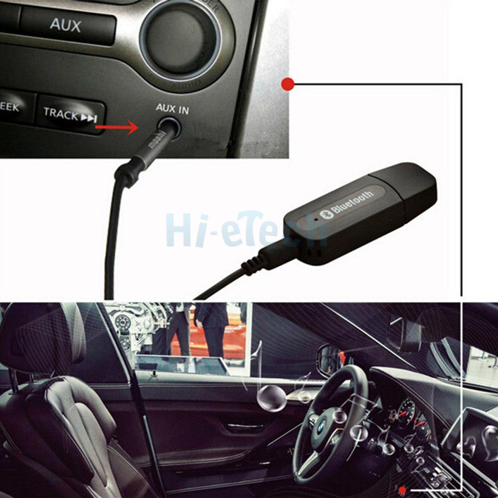 Wireless Stereo Music 35mm Aux Bluetooth Audio Receiver Adapter For Usb Home Car Pc 750958523129 Ebay