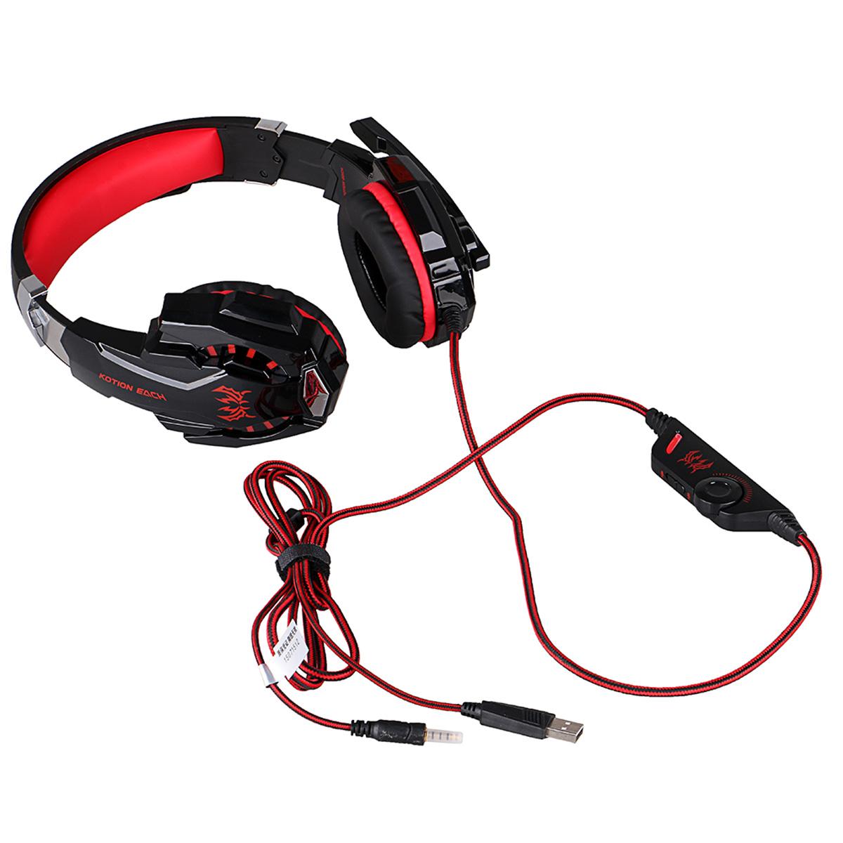 Kotion Each G9000 Stereo Gaming Headset Headphones
