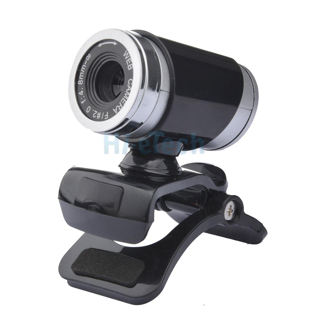 Usb 12mp hd camera web cam 360 rotation with mic clip on for Camera tv web