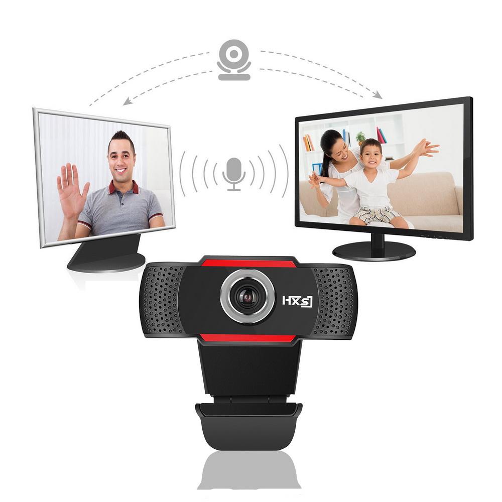 hd 720p megapixels usb auto webcam camera with mic for skype desktop android tv ebay. Black Bedroom Furniture Sets. Home Design Ideas