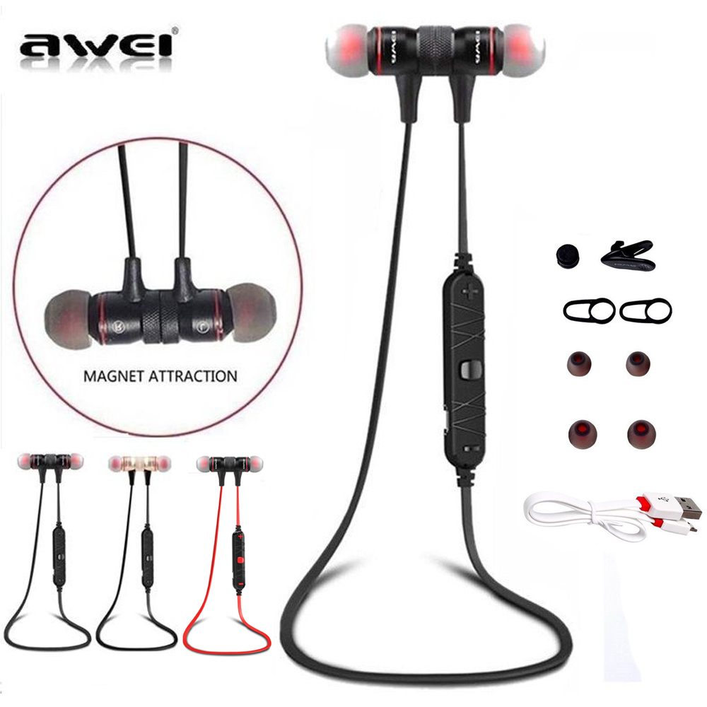 awei a920bl wireless bluetooth 4 1 sport stereo headset noise earbuds headphones ebay. Black Bedroom Furniture Sets. Home Design Ideas