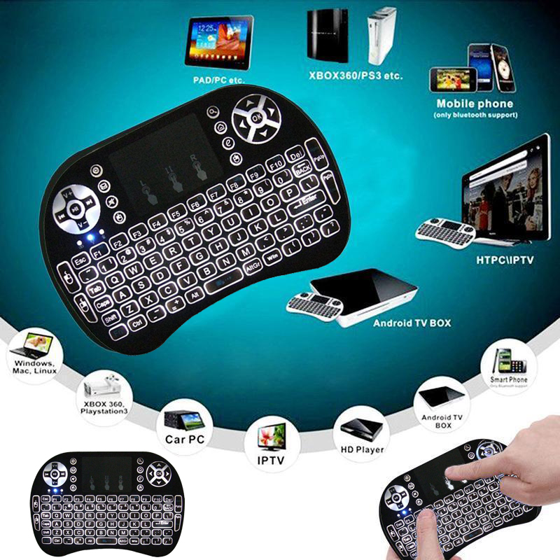 mini wireless keyboard with touchpad manual