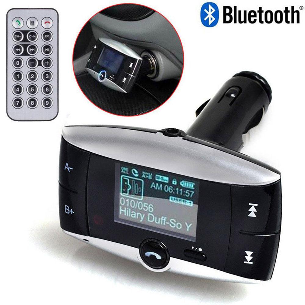 Bluetooth Wireless Fm Transmitter Modulator Car Kit Mp3