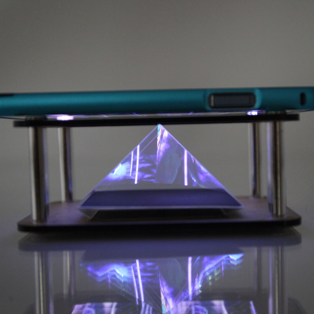 3d Effect Hologram Projector Pyramid Toy Holographic For
