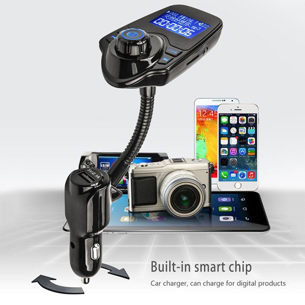 Lcd Modulator Car Kit Handsfree Wireless Bluetooth Fm Transmitter Mp3 Player Usb Ebay