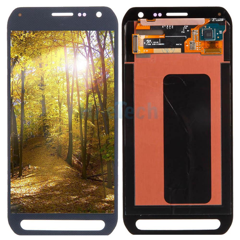 lcd display touch digitizer blue for samsung galaxy s6 active g890 g890a ebay. Black Bedroom Furniture Sets. Home Design Ideas