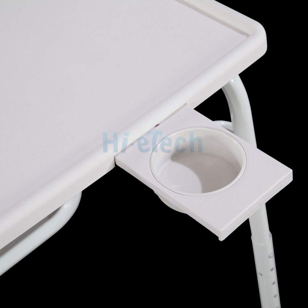 Table Adjustable Pc Tv Laptop Desk Tray Home Office S Cup