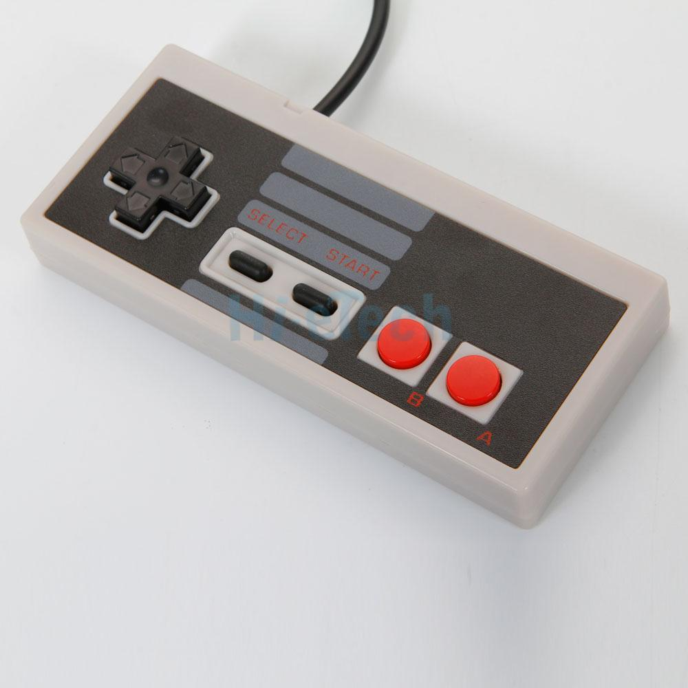 Classic Gaming PC USB Controller For Retro Nintendo NES Windows Gamepad Gray : eBay