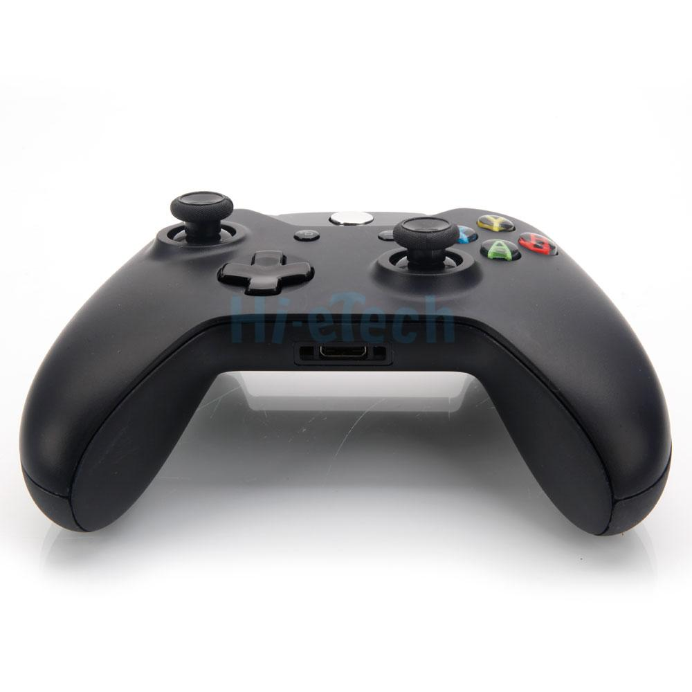 New Black Wireless Controller With Stereo Headset Jack For