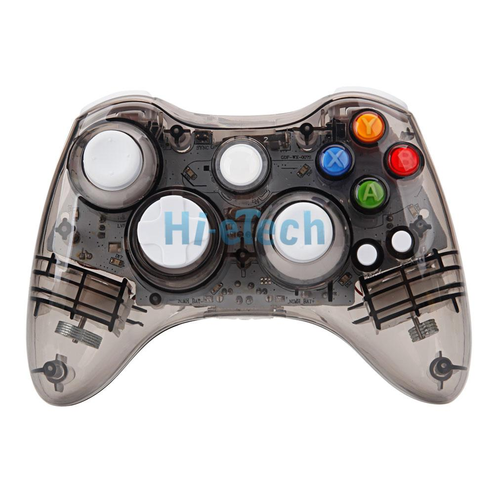 Home Design Games For Xbox 360: Glow Light USB Wired/Wireless Gamepad Controller For Xbox