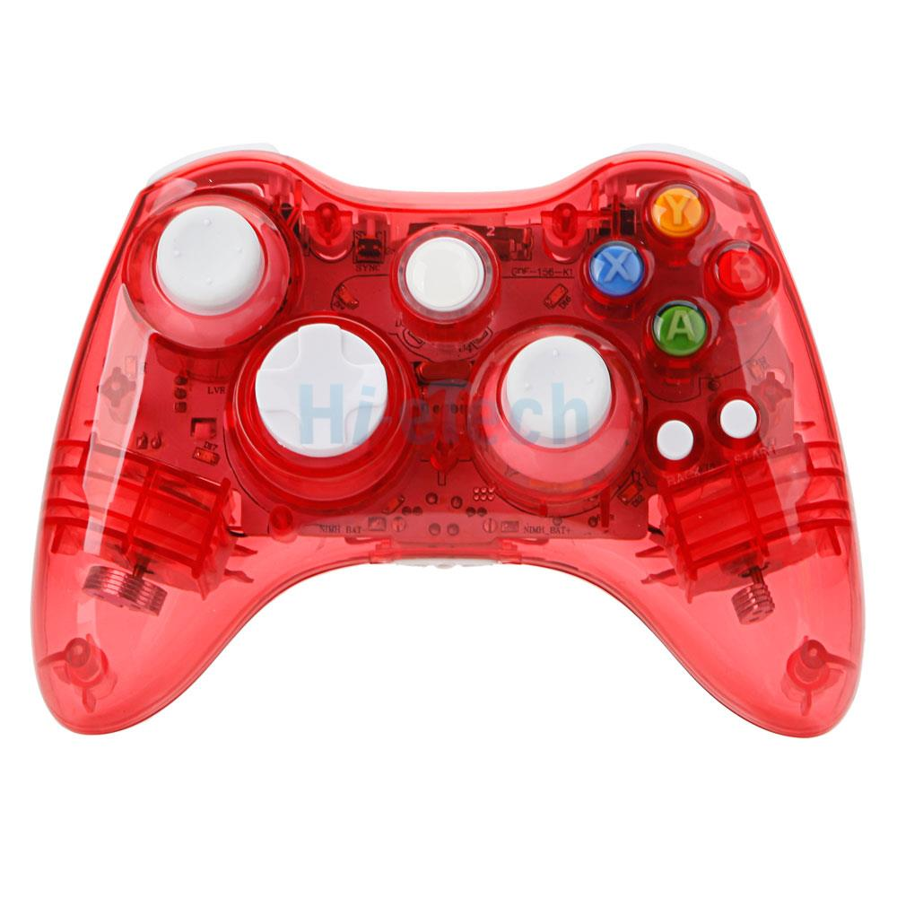 New Red Afterglow Wireless Controller Joystick For