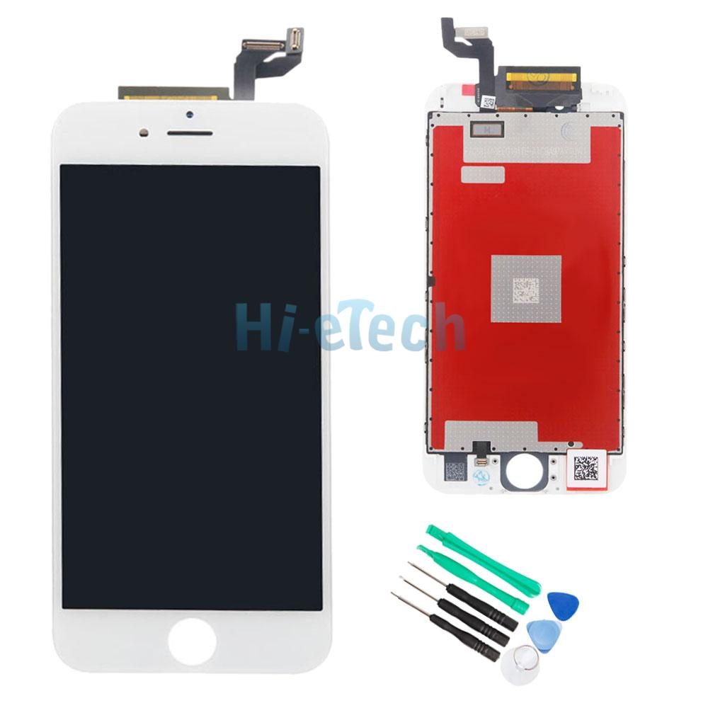 White LCD Display 3D Touch Screen Digitizer Bezel Frame ...