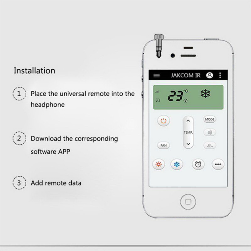 intelligent mobile smart ir remote control air