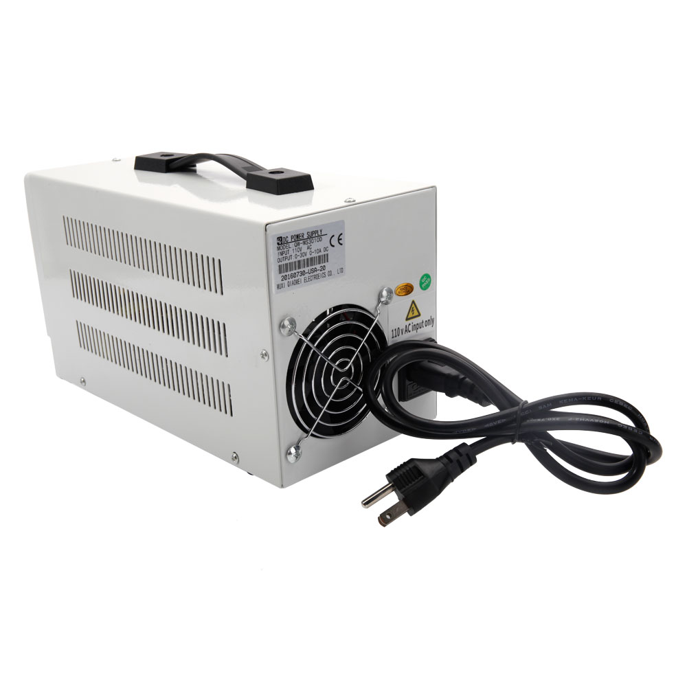Lab Adjustable DC Power Supply Precision Variable Digital Voltage 0 ...