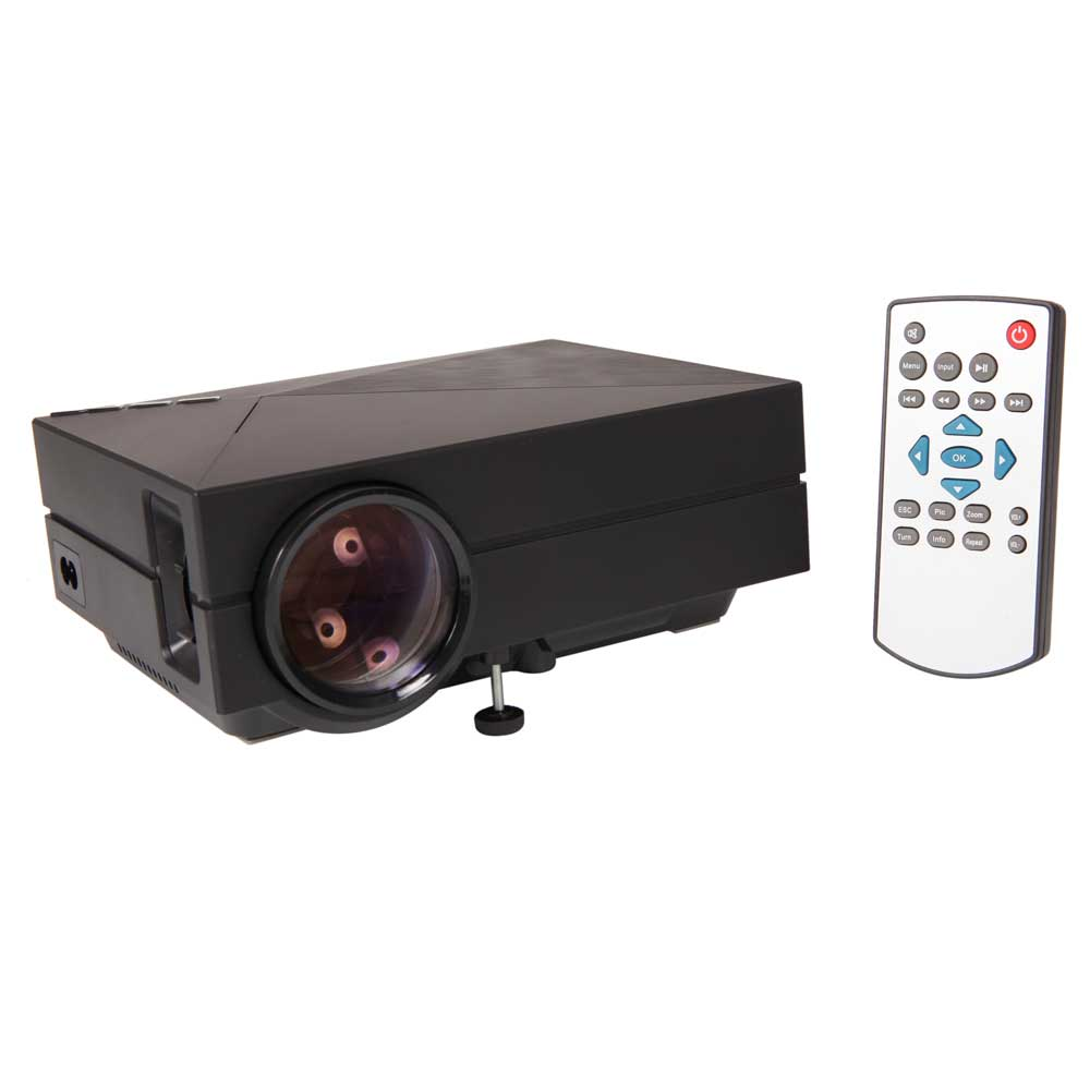 Gm60 mini projector led projector lcd 1000 lumen 1000 1 for Lumen pocket projector