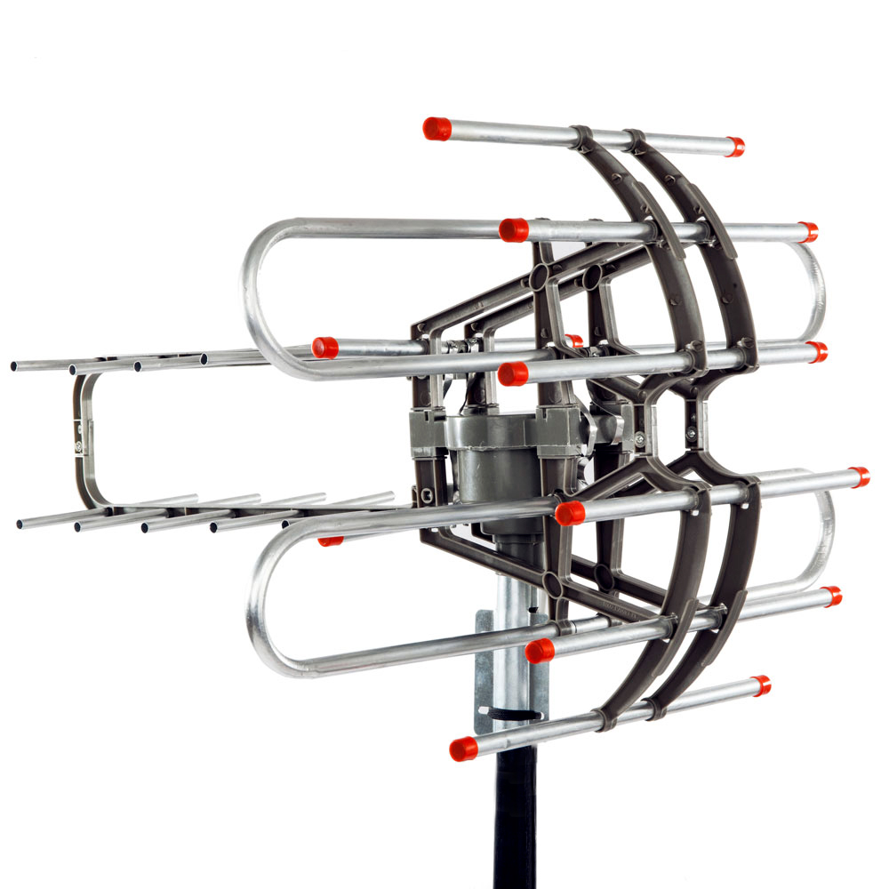 150 miles outdoor amplified hd tv antenna high gain 22