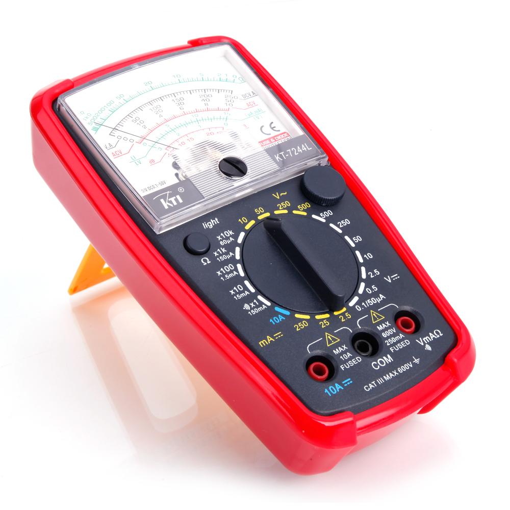 First Analog Meter : Kt pointer large display analog multimeter volt meter