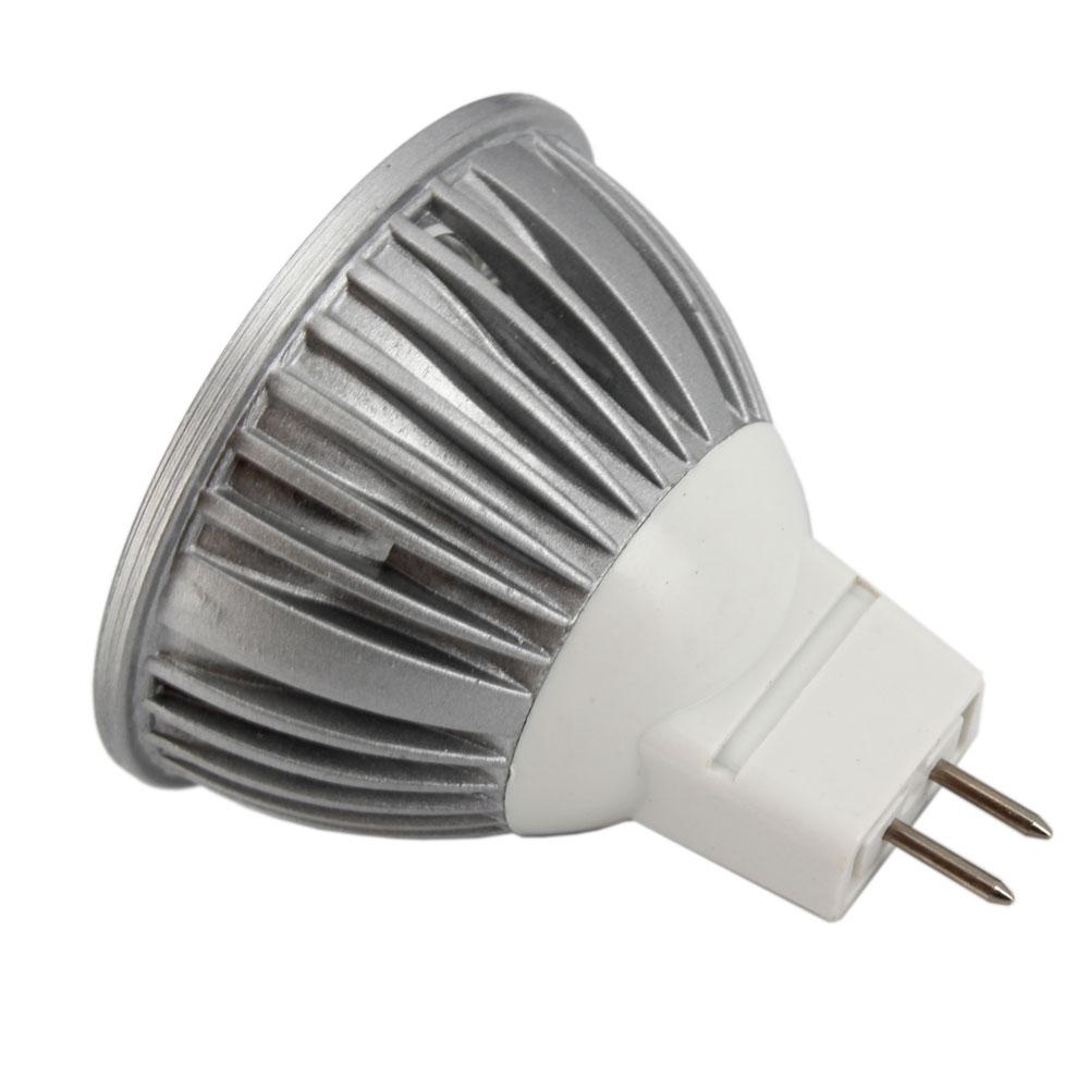 Mr16 Led Lap: 10Pcs 3W MR16 LED Light Bulb Lamp Pure White Spotlight