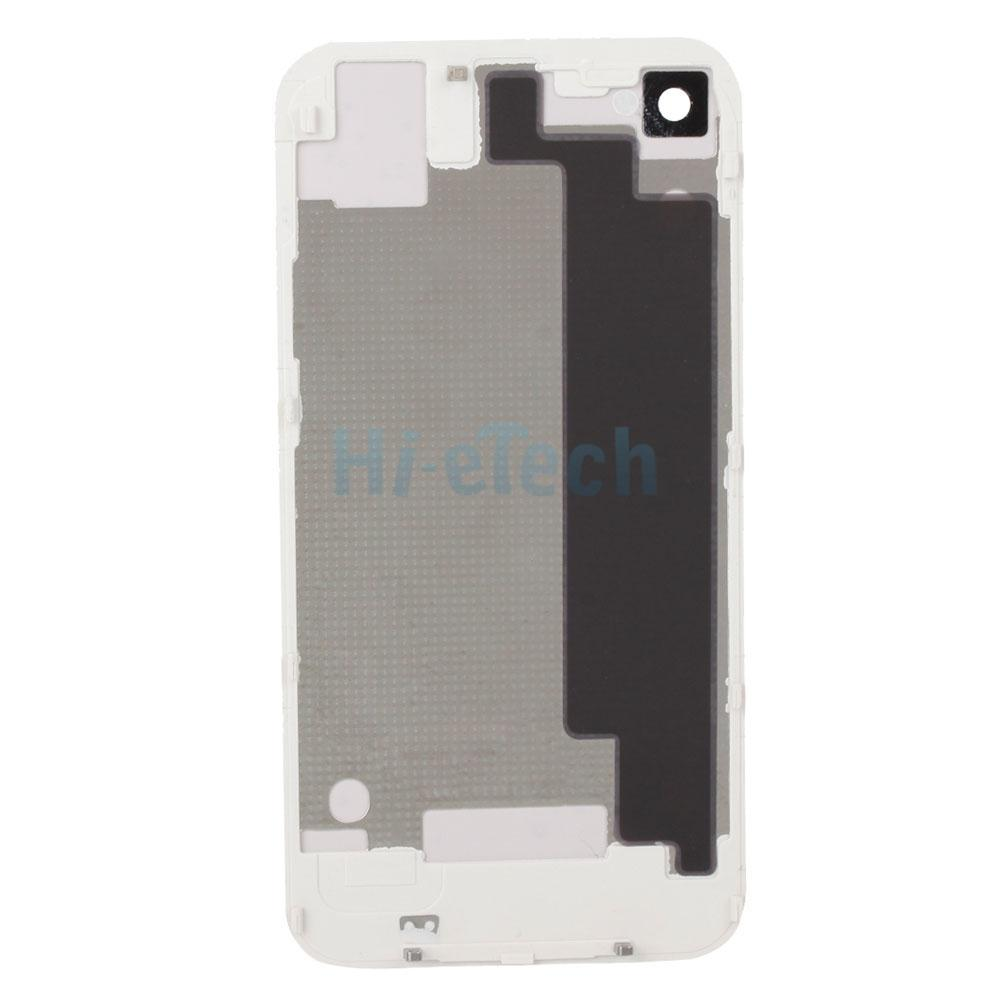 White back cover battery rear replacement assembly for for Iphone 4 screw template